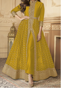 Aashirwad Anokhi Designer Party Wear Anarkali Suit