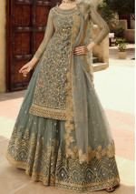 Glossy Amyra Designer Party Wear Lehenga Suit