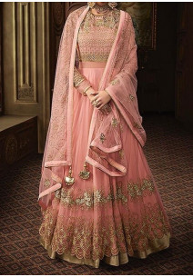 Glossy Majesty Gorgeous Designer Anarkali Suit