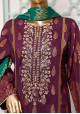 Bin Saeed Embroidered 3 Pieces Stitched Lawn Suit