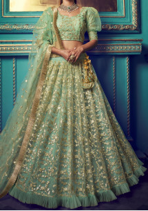 Arya Designs Cinderella  Bridal Wear Lehenga Choli